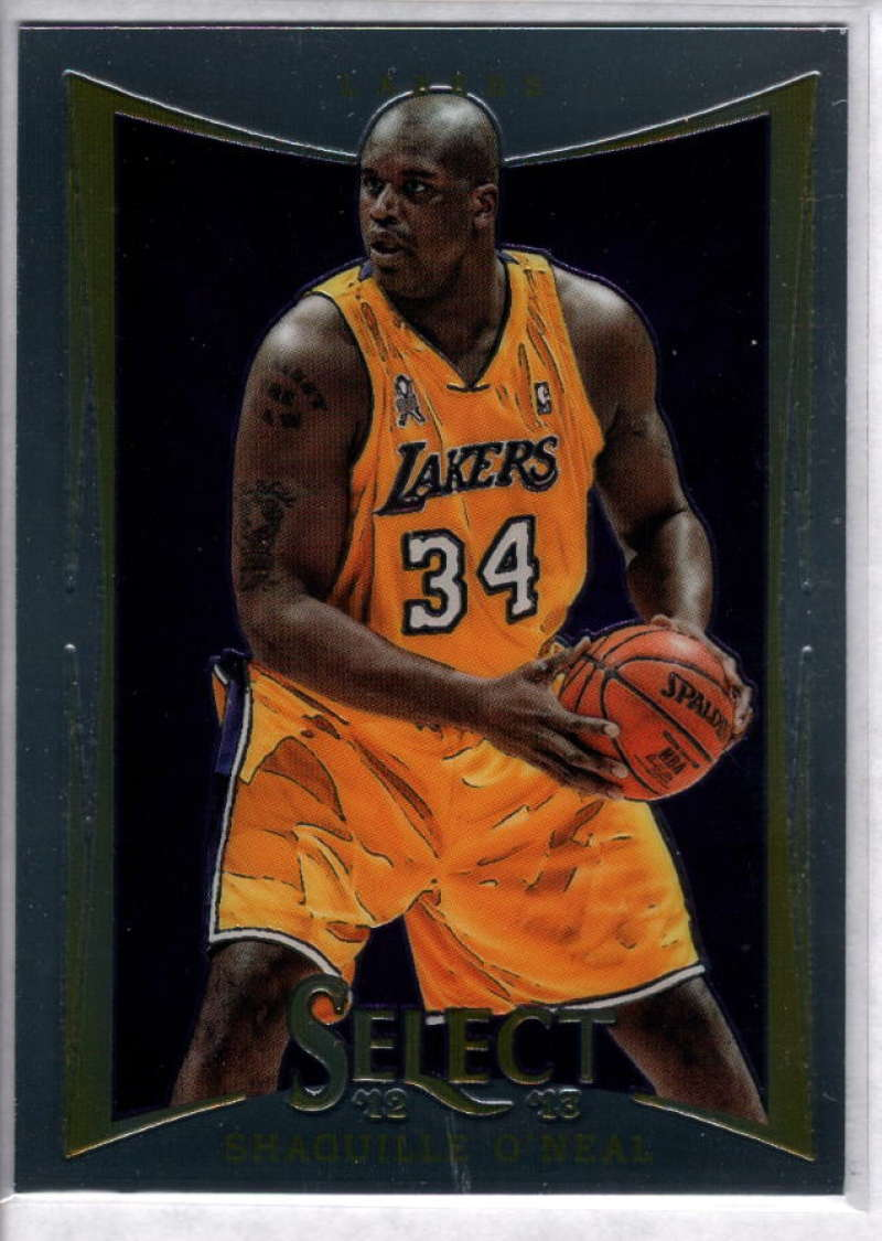 2012-13 Panini Select #142 Shaquille O'Neal NM-MT+