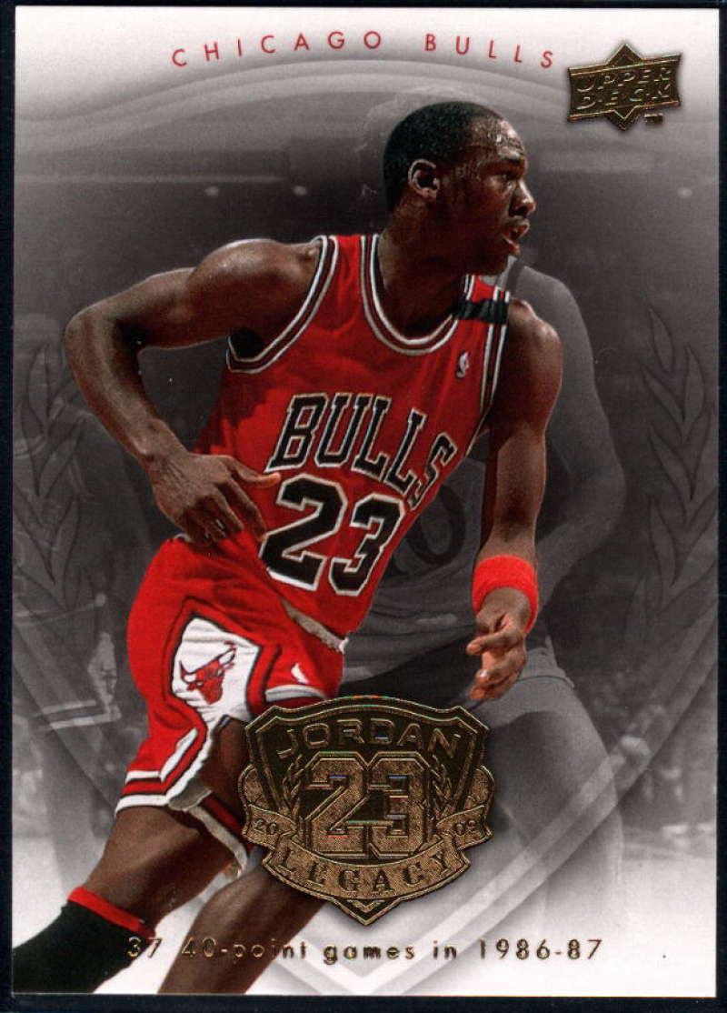 2009-10 Upper Deck Michael Jordan Legacy Hall Of Fame Edition #15 Michael Jordan NM-MT+