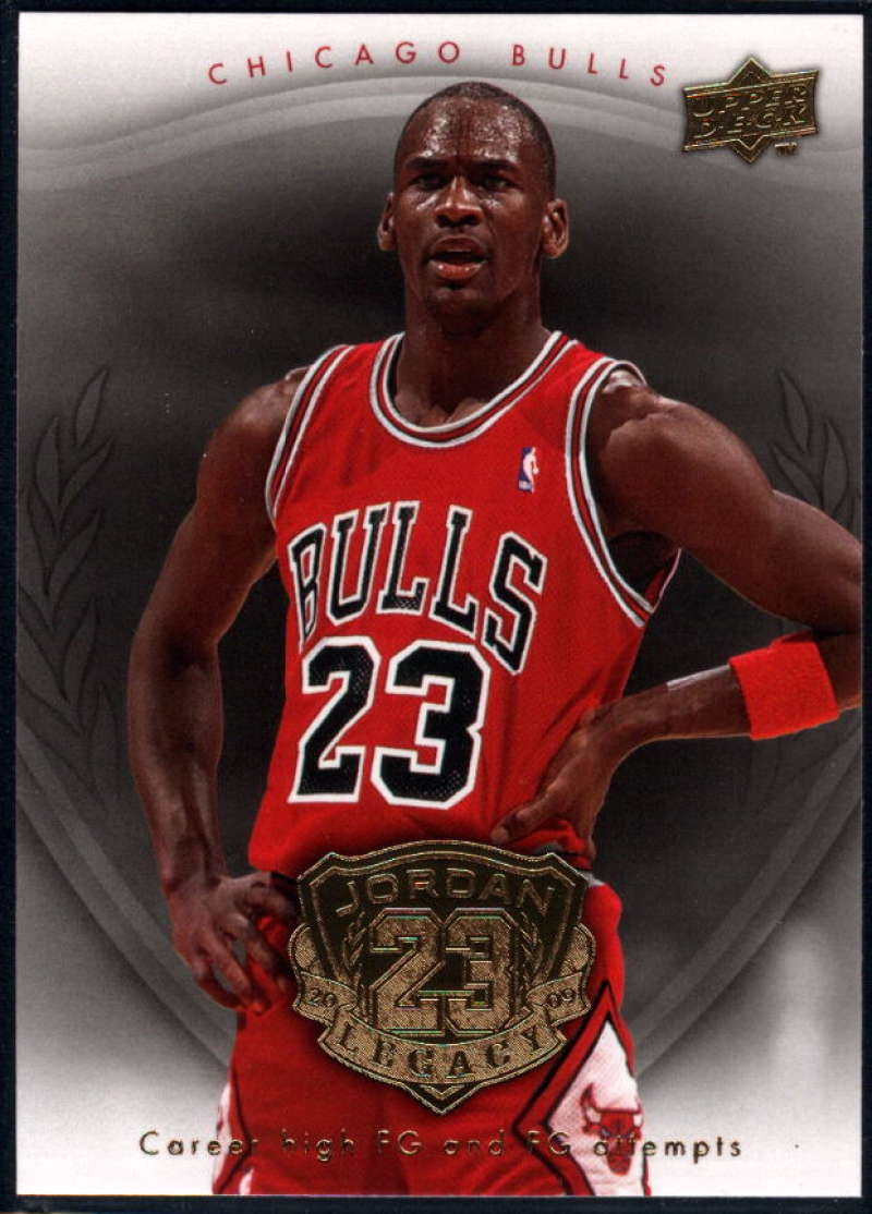 2009-10 Upper Deck Michael Jordan Legacy Hall Of Fame Edition #21 Michael Jordan NM-MT+
