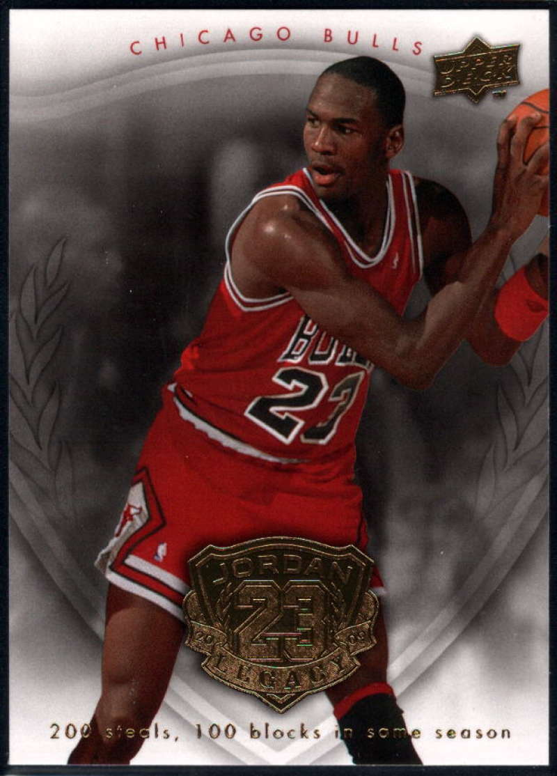 2009-10 Upper Deck Michael Jordan Legacy Hall Of Fame Edition #22 Michael Jordan NM-MT+