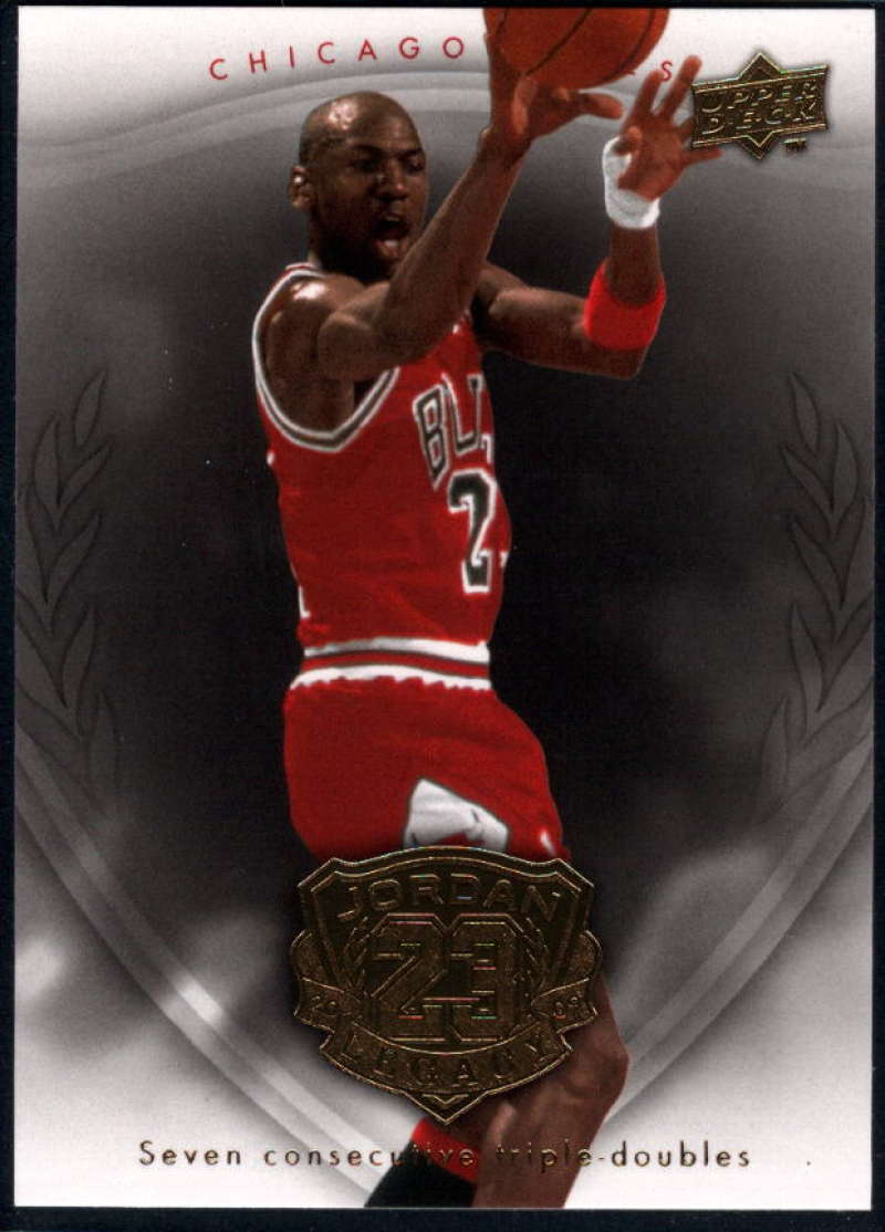 2009-10 Upper Deck Michael Jordan Legacy Hall Of Fame Edition #33 Michael Jordan NM-MT+