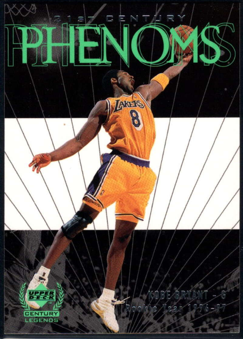 1999-00 Upper Deck Century Legends #51 Kobe Bryant NM-MT+