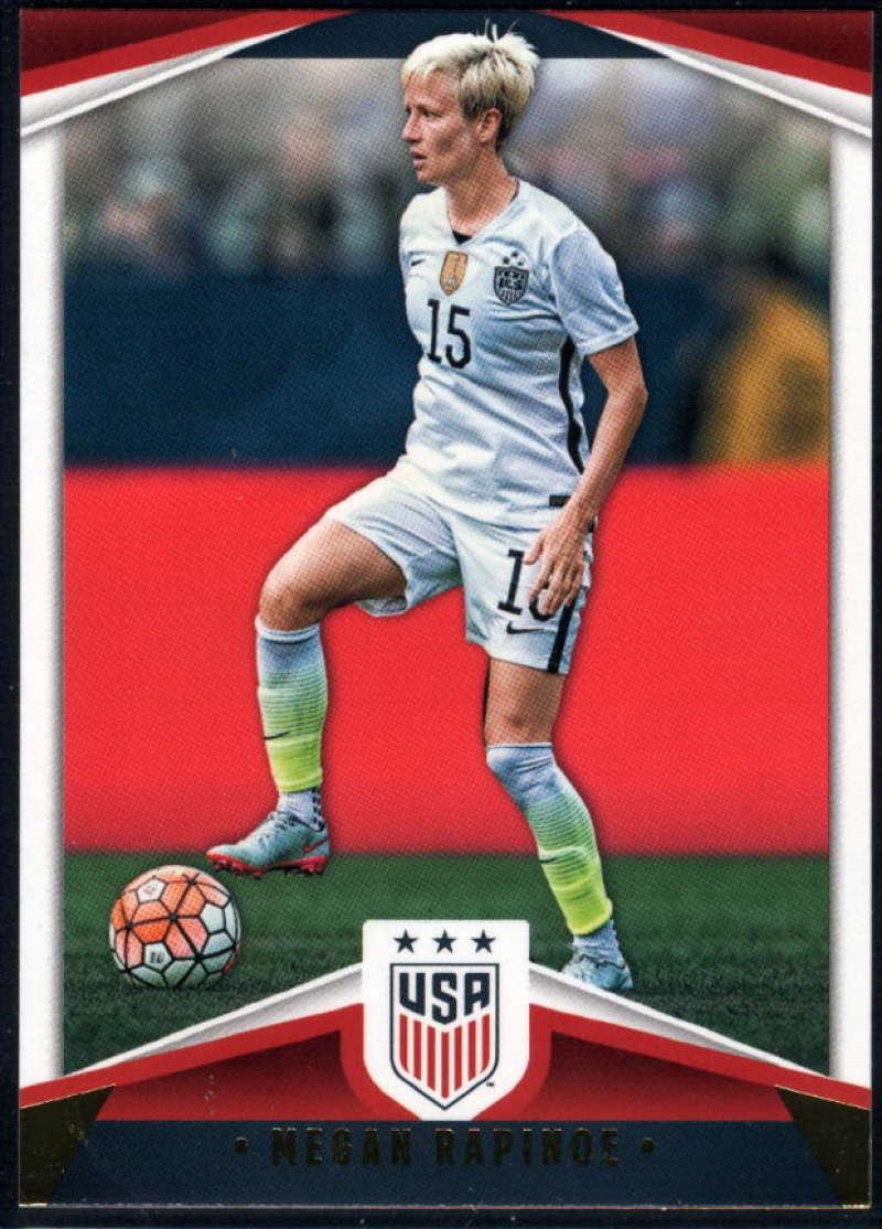 2016 Panini USA Soccer #11 Megan Rapinoe NM-MT+