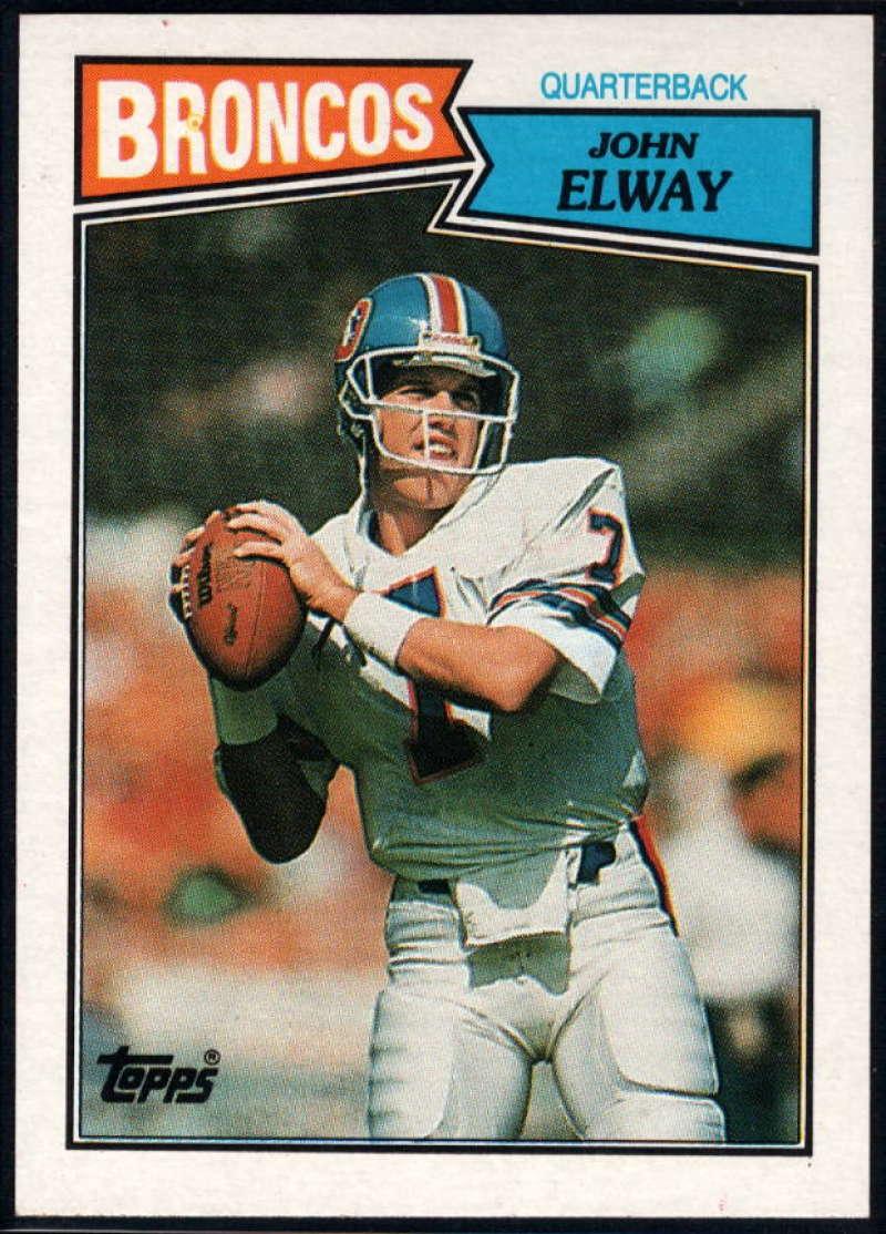 1987 Topps #31 John Elway NM-MT+