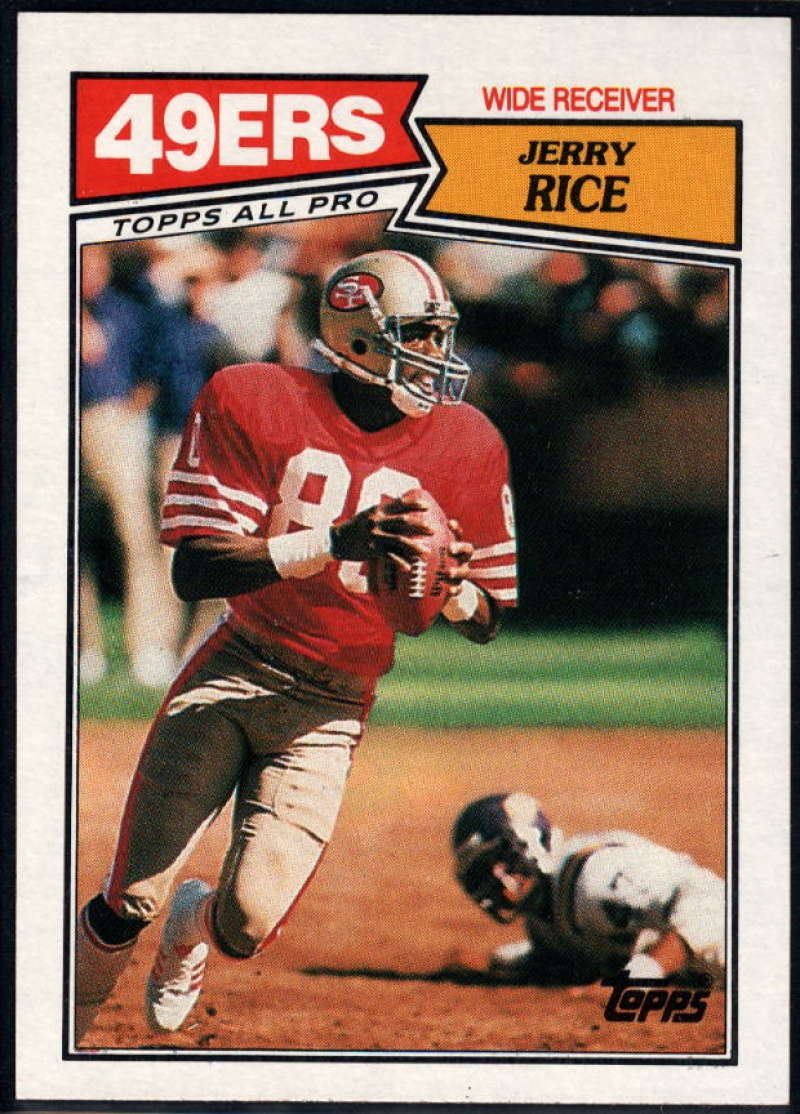 1987 Topps #115 Jerry Rice NM-MT+