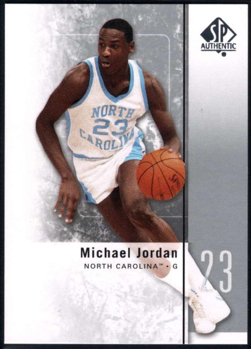 2011-12 SP Authentic #1 Michael Jordan NM-MT+