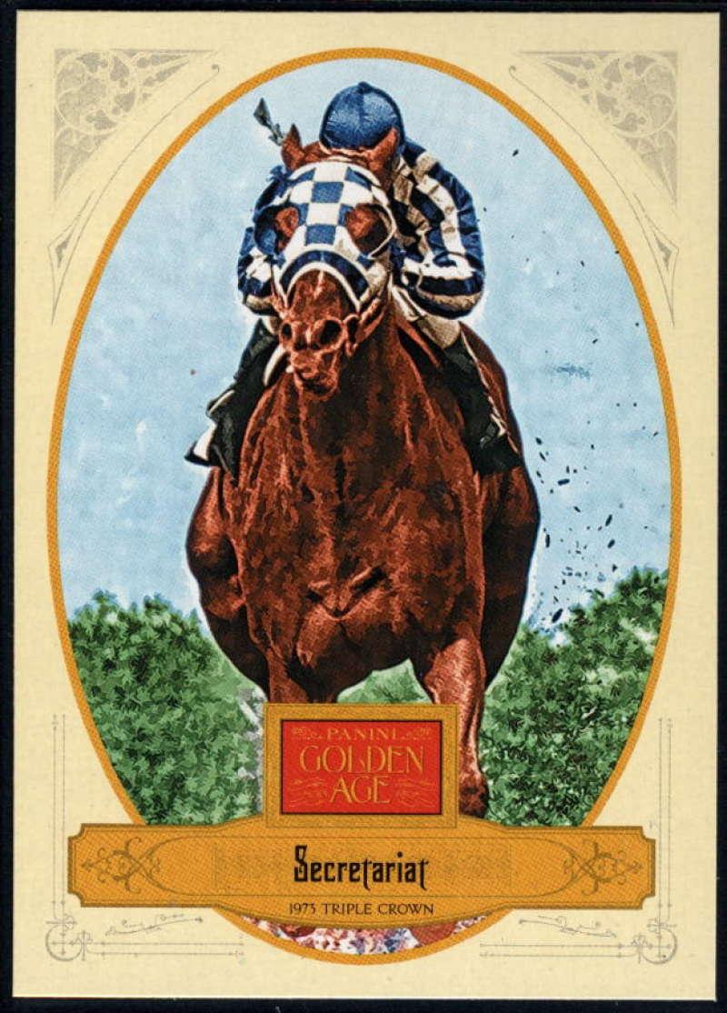 2012 Panini Golden Age #108 Secretariat NM-MT+