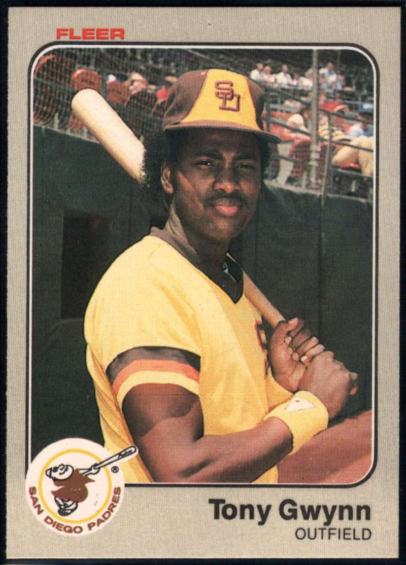 1983 Fleer #360 Tony Gwynn NM-MT RC