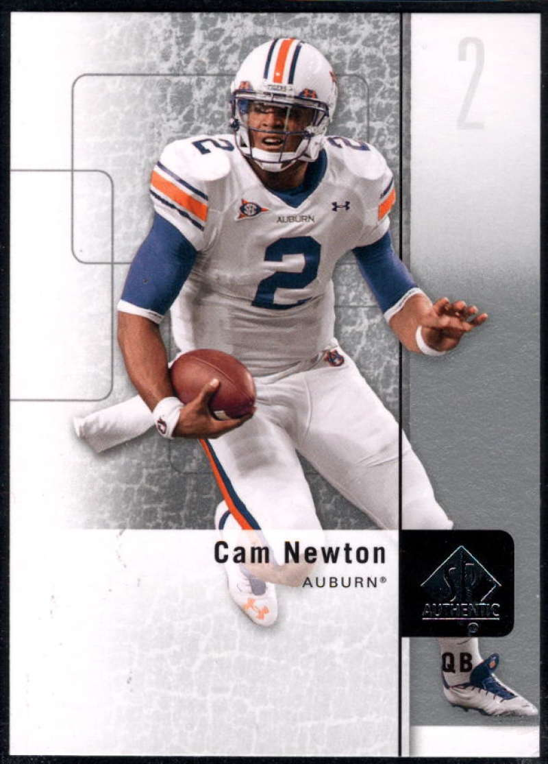 2011 Upper Deck SP Authentic #94 Cam Newton NM-MT+