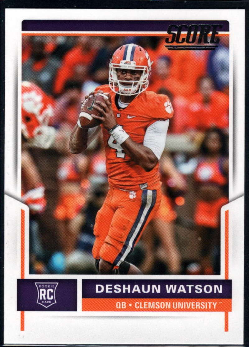 2017 Score Rookies #361 Deshaun Watson NM-MT+ RC