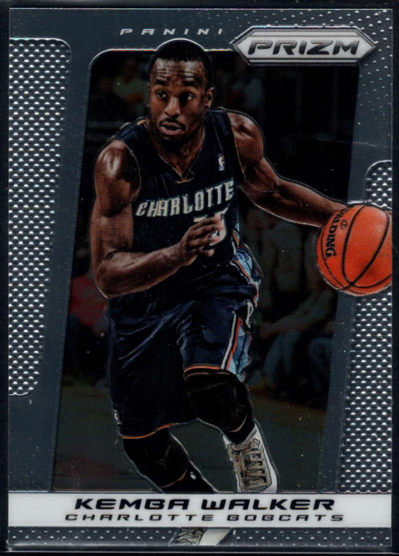 2013-14 Panini Prizm Commons #159 Kemba Walker NM-MT+