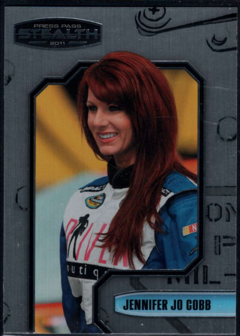 2011 Press Pass Stealth #63 Jennifer Jo Cobb NM-MT+ RC