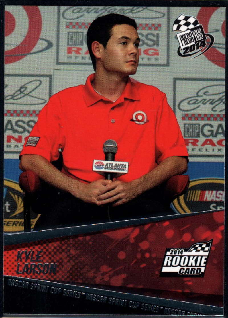 2014 Press Pass #43 Kyle Larson NM-MT+ RC