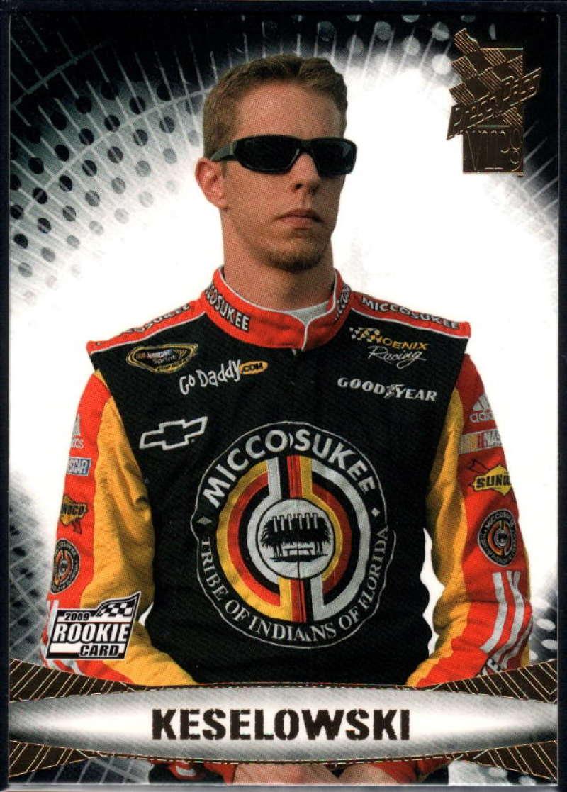 2009 Press Pass VIP #18 Brad Keselowski NM-MT+ RC