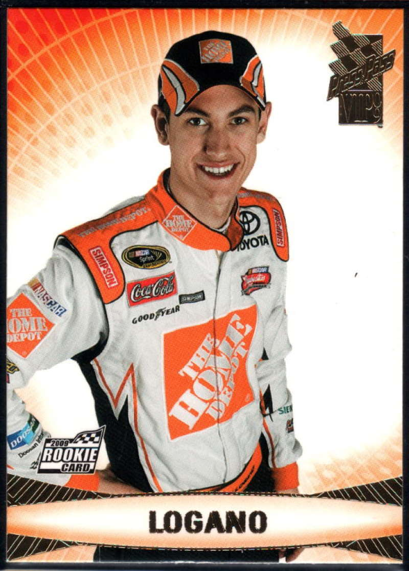 2009 Press Pass VIP #20 Joey Logano NM-MT+ RC