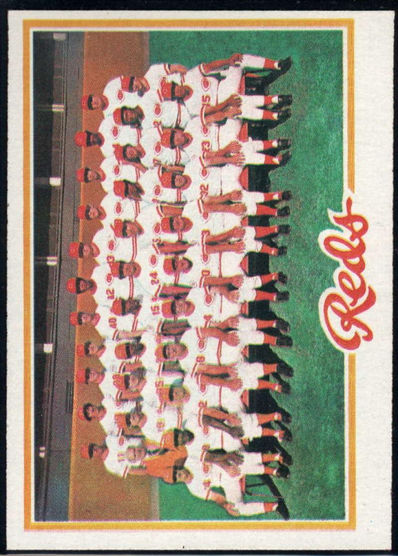 1978 Topps #526 Reds Team NM Near Mint