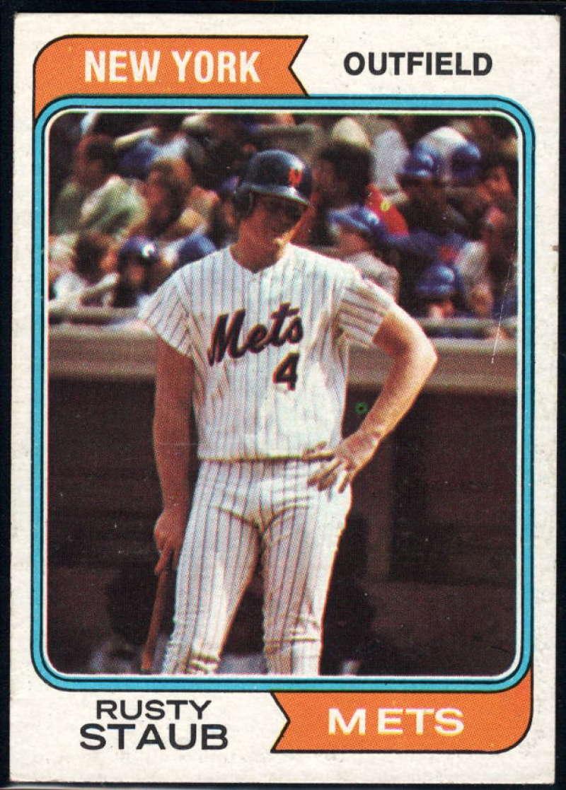 1974 Topps #629 Rusty Staub EX/NM