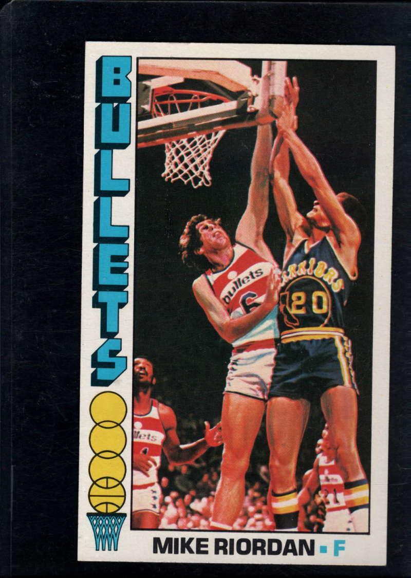 1976-77 Topps #56 Mike Riordan NM Near Mint