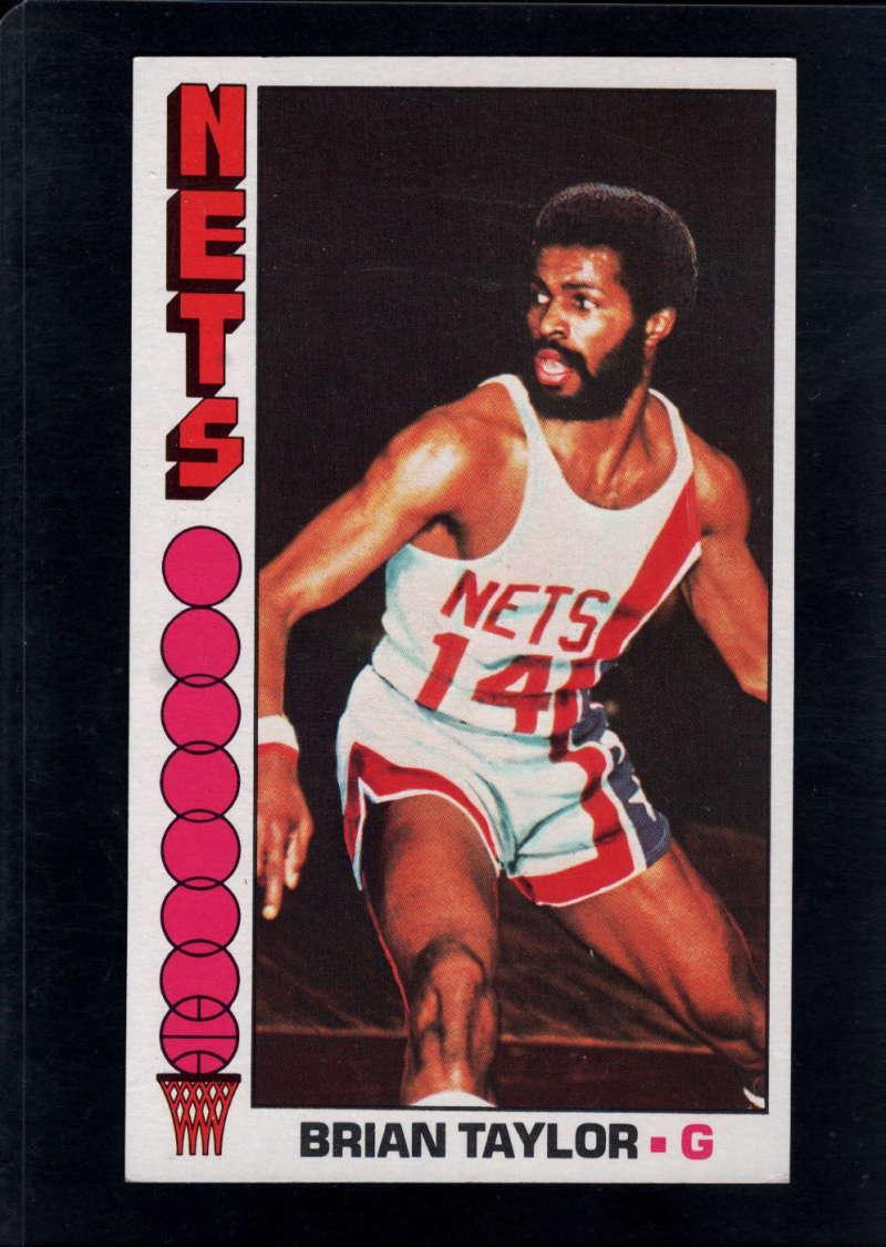 1976-77 Topps #73 Brian Taylor NM Near Mint