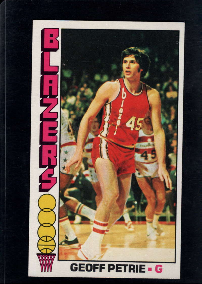 1976-77 Topps #78 Geoff Petrie NM Near Mint