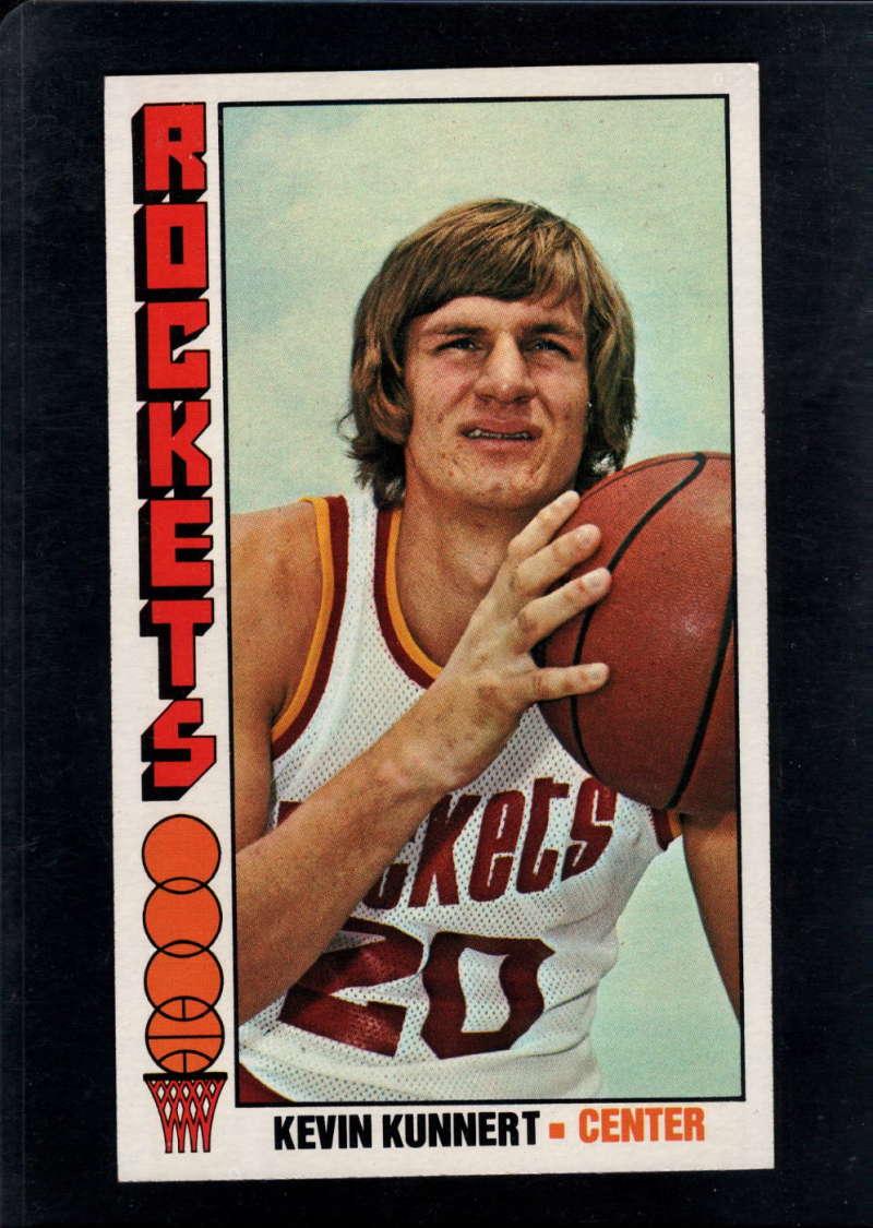 1976-77 Topps #91 Kevin Kunnert NM Near Mint