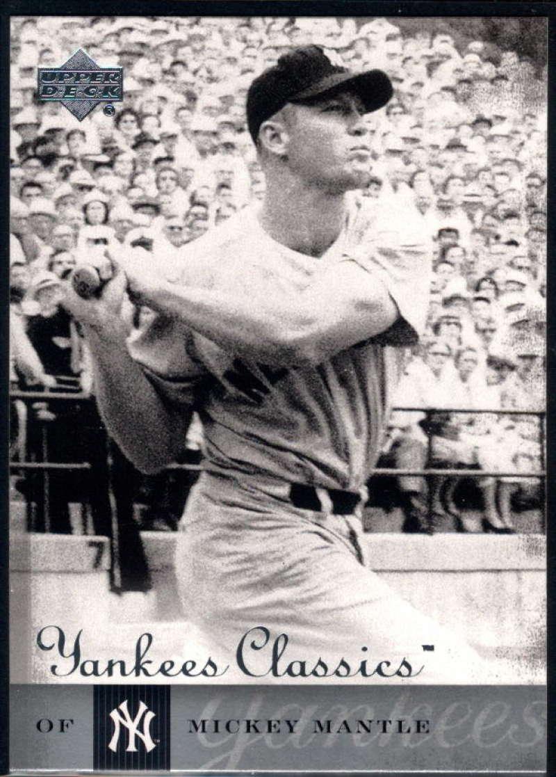 2004 Upper Deck Yankees Classics #81 Mickey Mantle NM-MT+