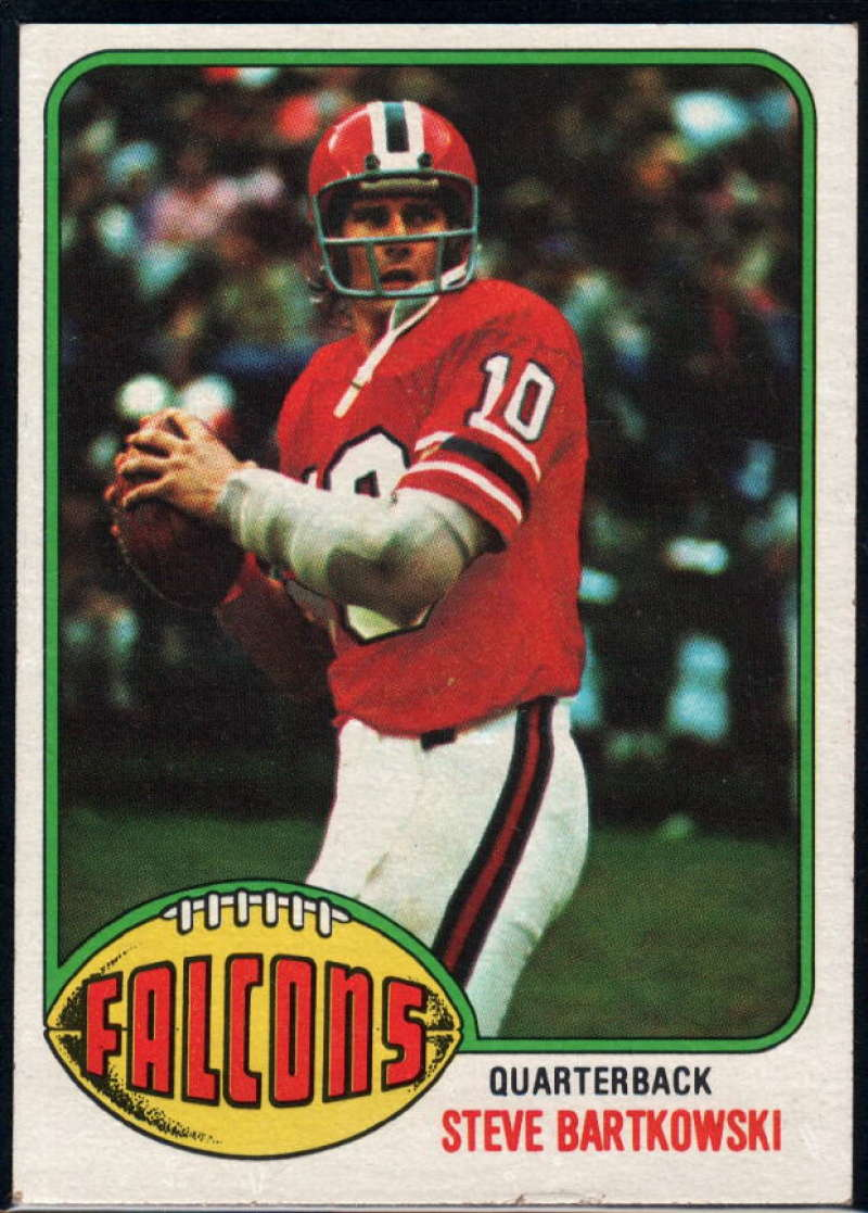 1976 Topps #35 Steve Bartkowski NM Near Mint RC