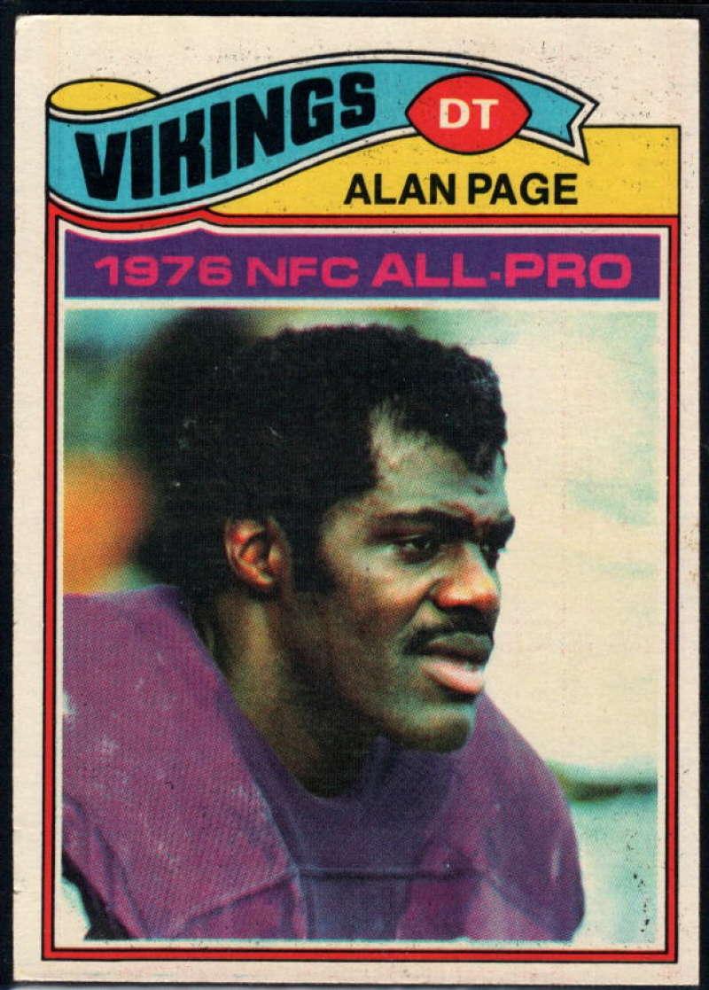 1977 Topps #230 Alan Page NM Near Mint