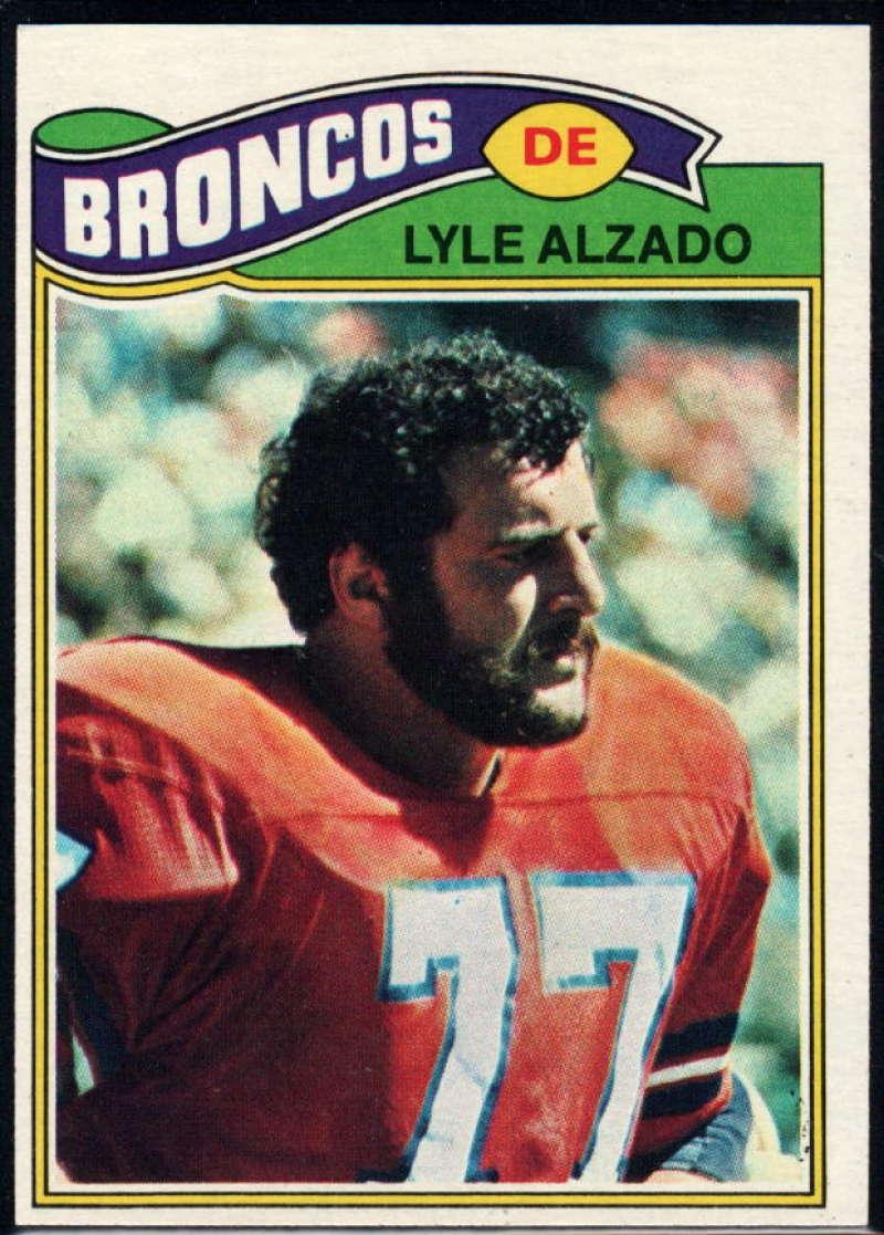 1977 Topps #386 Lyle Alzado NM Near Mint