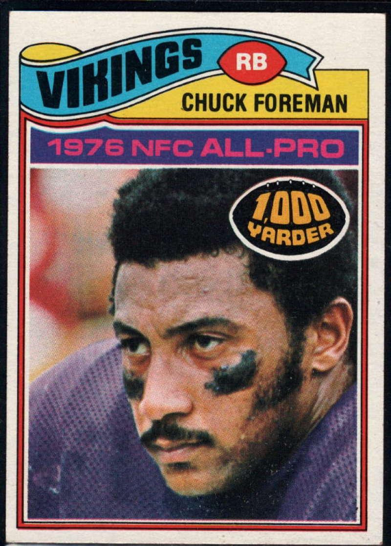 1977 Topps #500 Chuck Foreman NM Near Mint