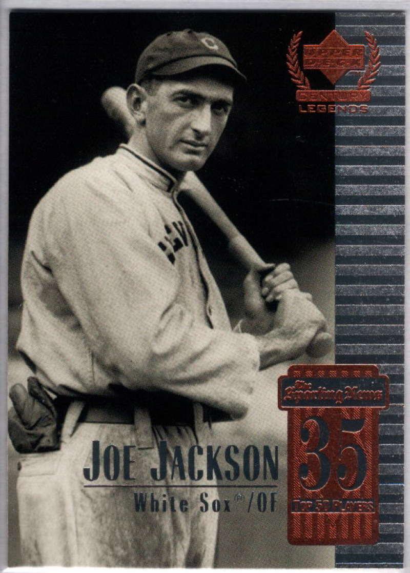 1999 Upper Deck Century Legends #35 Shoeless Joe Jackson NM-MT+