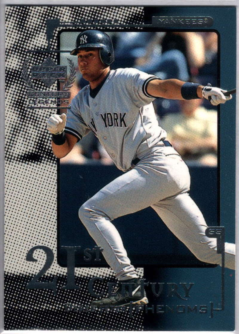 1999 Upper Deck Century Legends #116 Derek Jeter NM-MT+