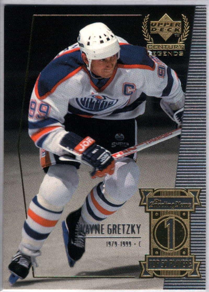1999-00 Upper Deck Century Legends #1 Wayne Gretzky NM-MT+