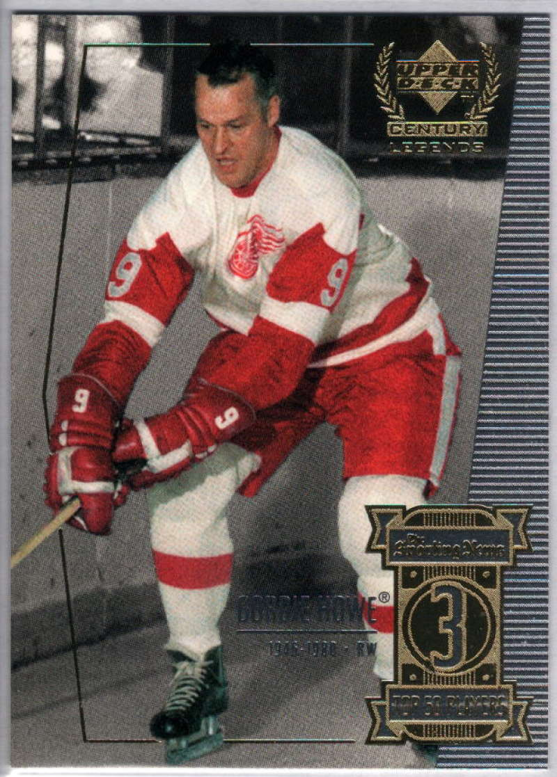 1999-00 Upper Deck Century Legends #3 Gordie Howe NM-MT+