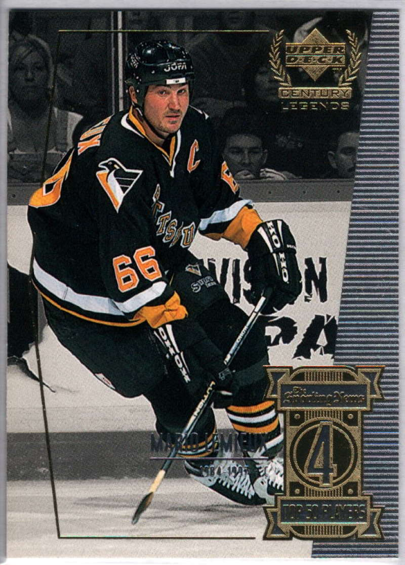 1999-00 Upper Deck Century Legends #4 Mario Lemieux NM-MT+