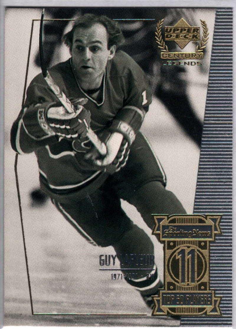 1999-00 Upper Deck Century Legends #11 Guy Lafleur NM-MT+