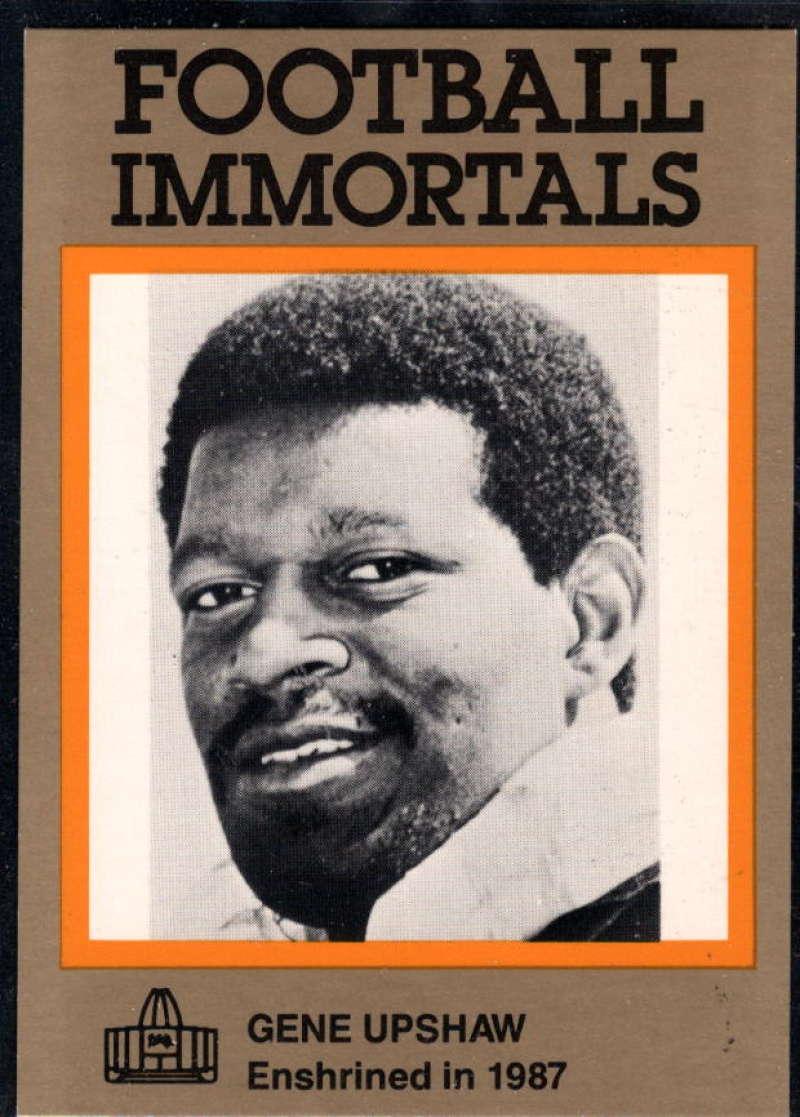 1985-88 Football Immortals #140 Gene Upshaw NM Near Mint