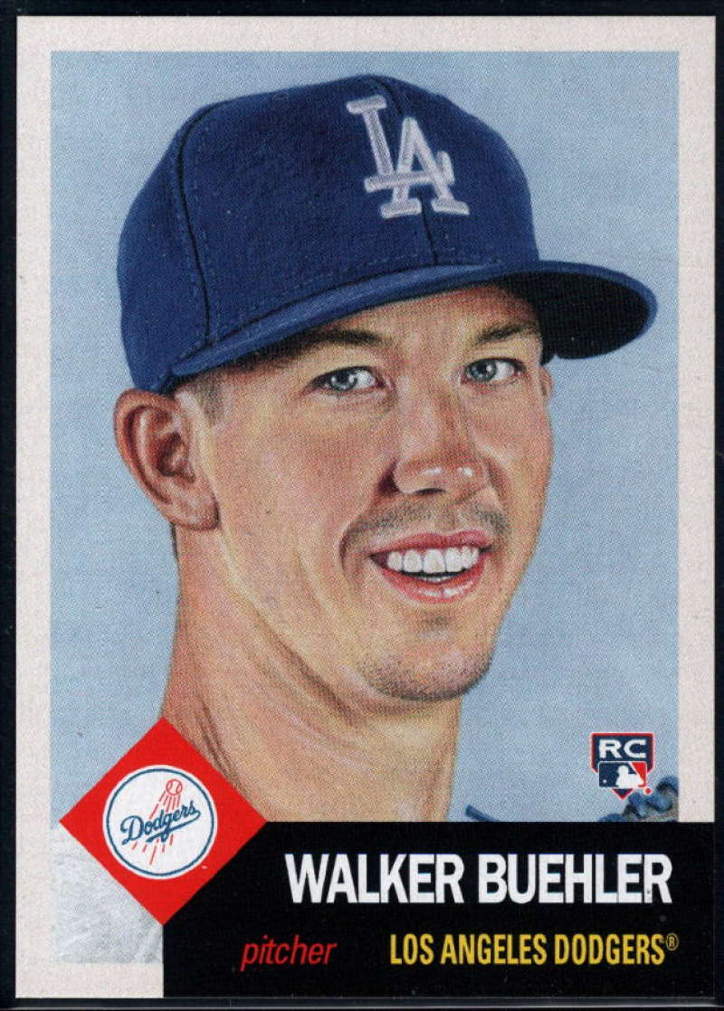 2018 Topps Living Set #53 Walker Buehler NM-MT+ RC