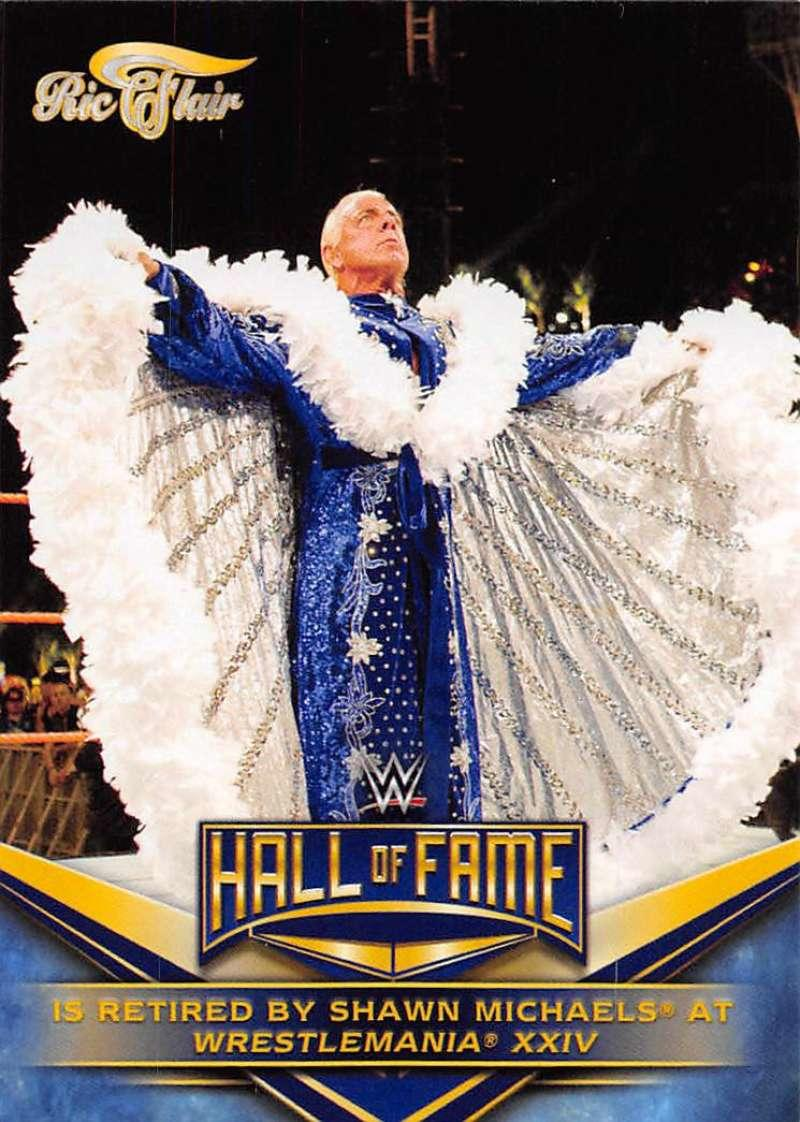 2018 Topps WWE Wrestling Hall of Fame Tribute #30 Ric Flair