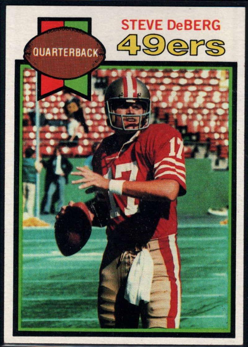 1979 Topps #77 Steve DeBerg NM Near Mint RC San Francisco 49ers