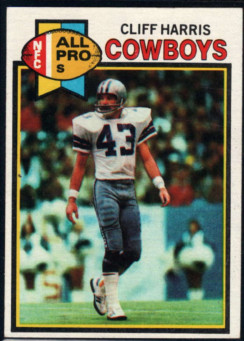 1979 Topps #360 Cliff Harris NM Near Mint Dallas Cowboys