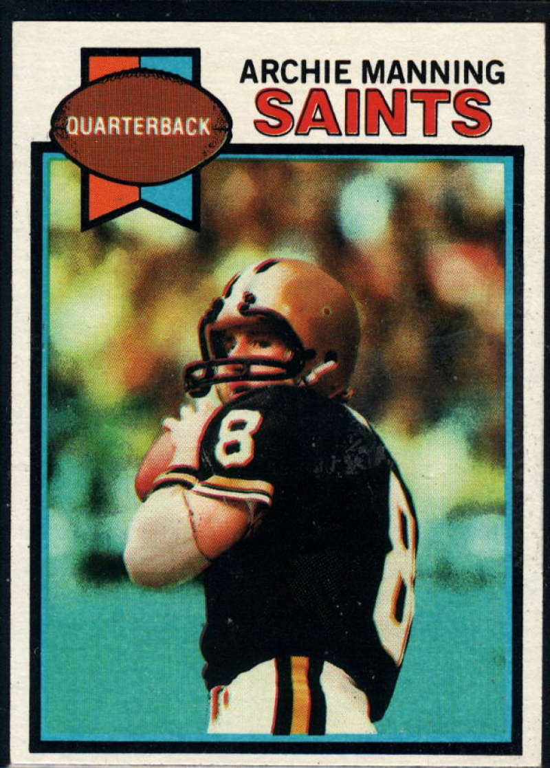 1979 Topps #383 Archie Manning NM Near Mint New Orleans Saints