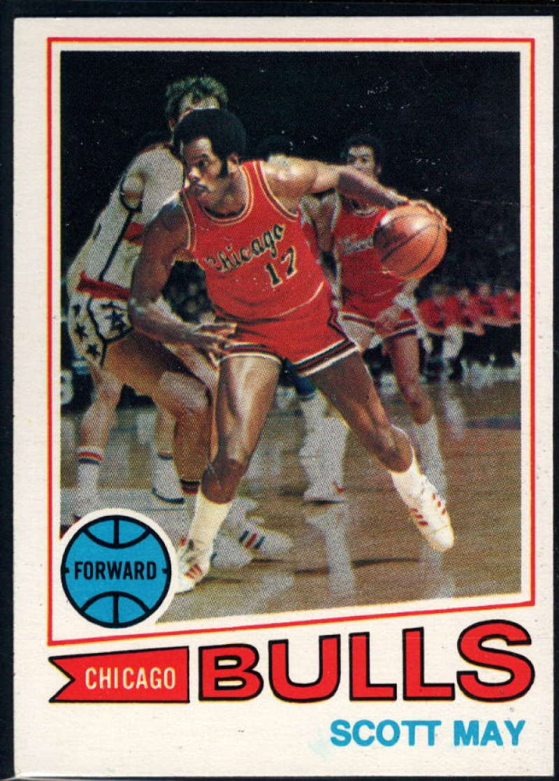 1977-78 Topps #36 Scott May NM Near Mint RC Chicago Bulls