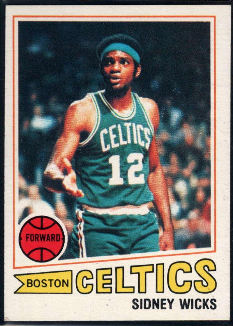 1977-78 Topps #52 Sidney Wicks NM Near Mint Boston Celtics