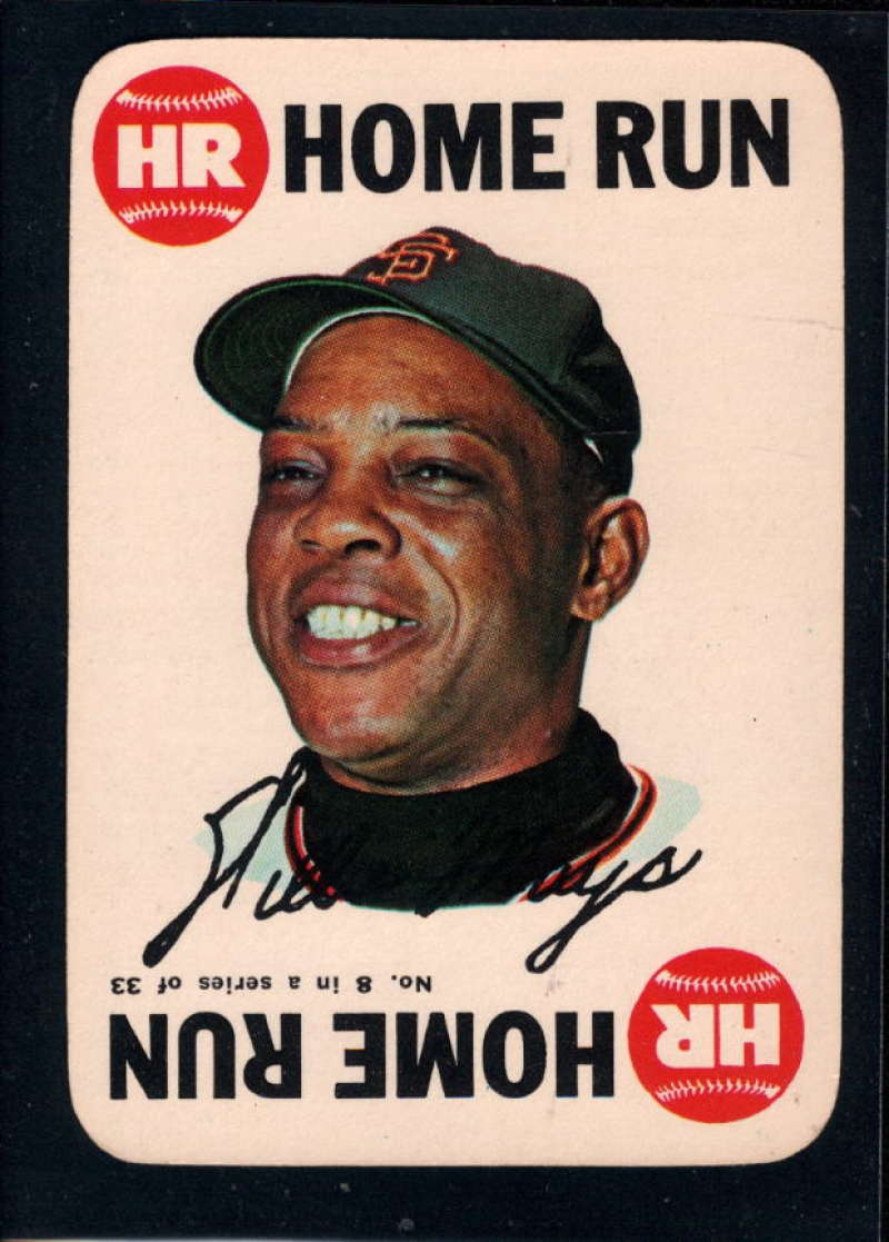 1968 Topps Game #8 Willie Mays NM Near Mint San Francisco Giants