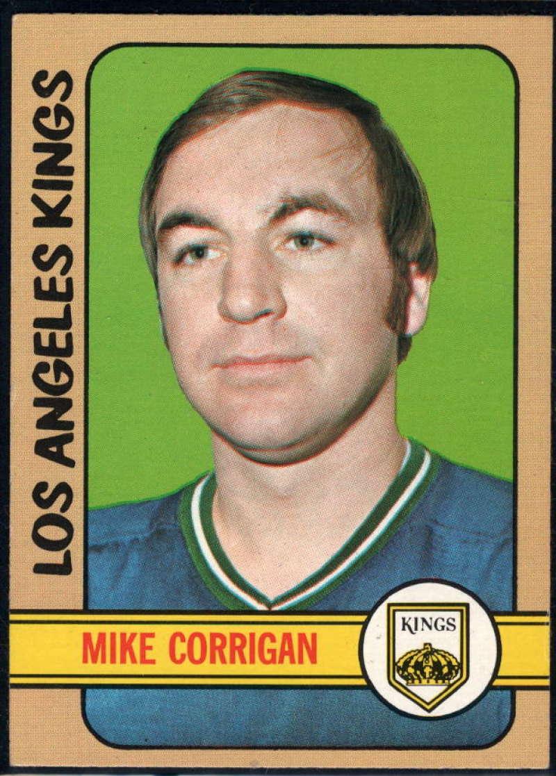 1972-73 Topps #89 Mike Corrigan EX/NM Los Angeles Kings