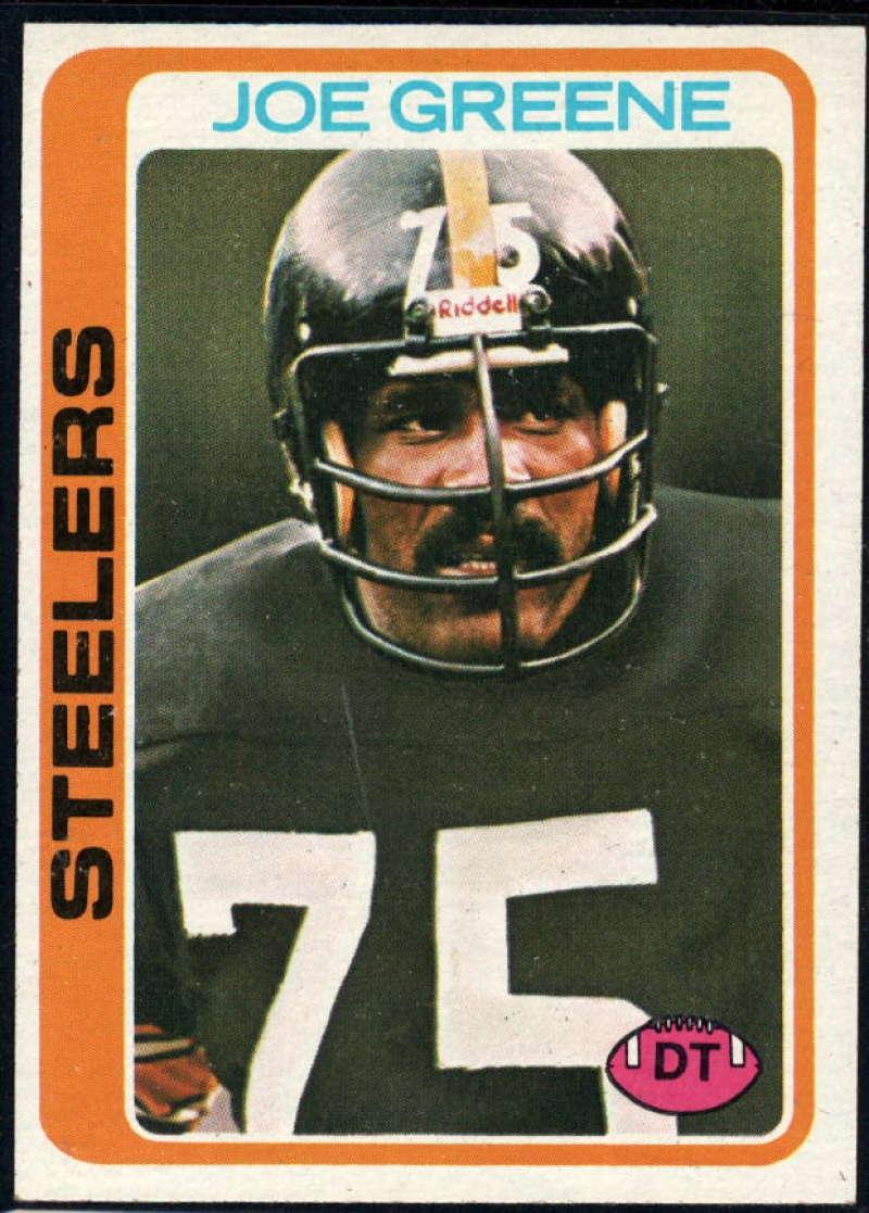 1978 Topps #295 Joe Greene NM Near Mint Pittsburgh Steelers