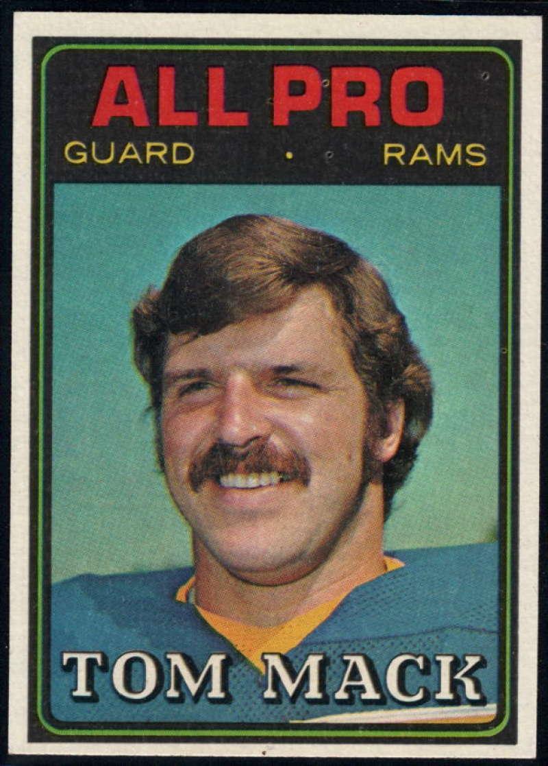 1974 Topps #126 Tom Mack AP EX/NM Los Angeles Rams