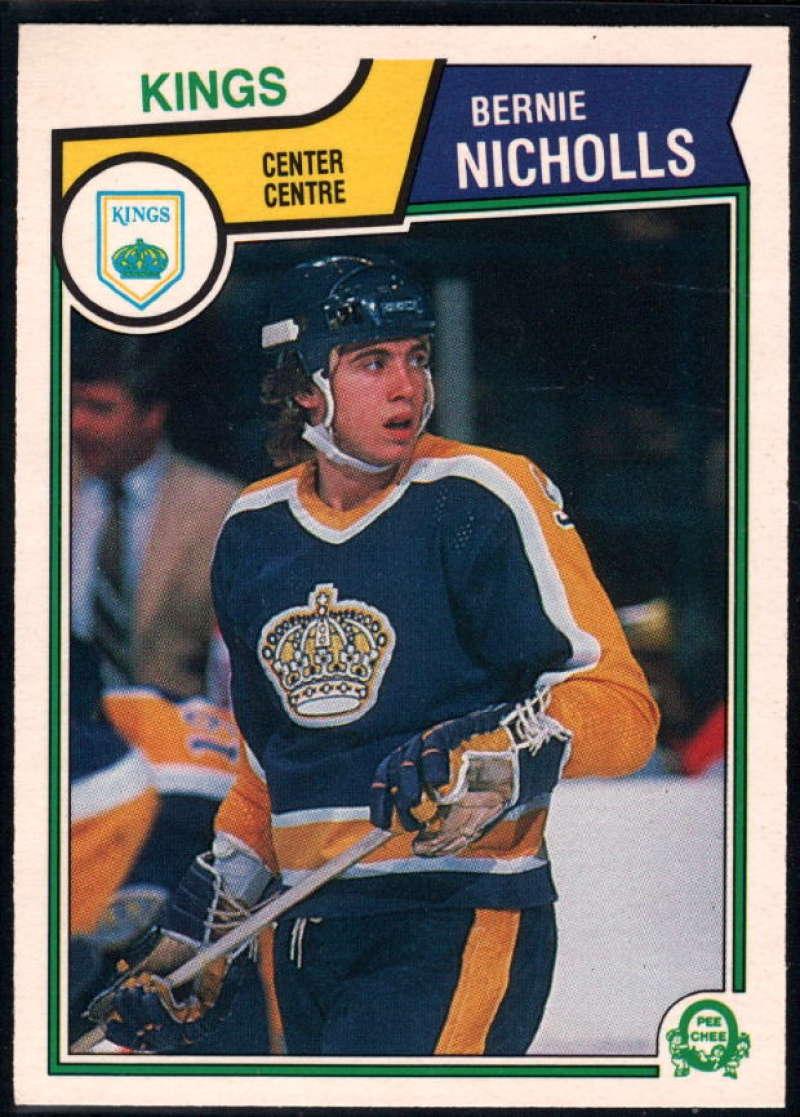1983-84 O-Pee-Chee #160 Bernie Nicholls NM-MT RC Los Angeles Kings