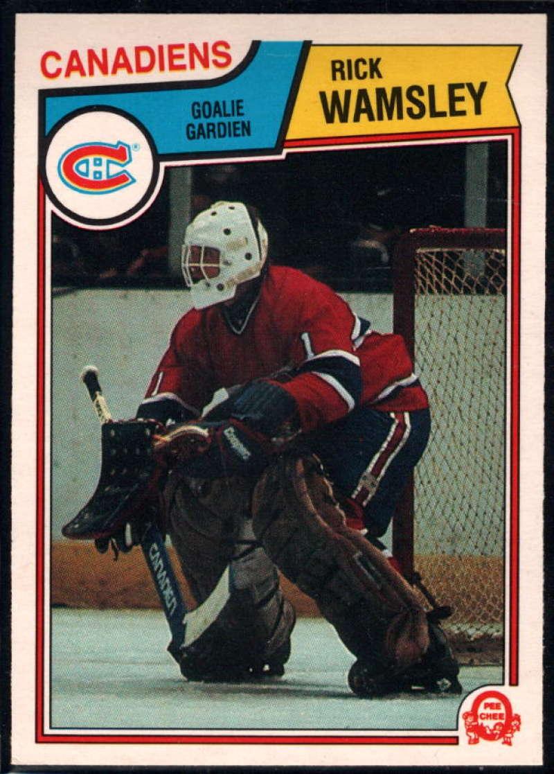 1983-84 O-Pee-Chee #201 Rick Wamsley NM-MT Montreal Canadiens